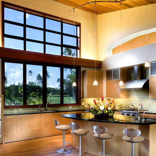 If you have a wall of windows, The trim Company can help you protect your furnishings